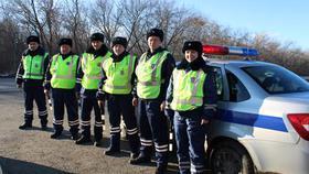 ГИБДД Коркино вышла  в рейд вместе с коллегами областного управления