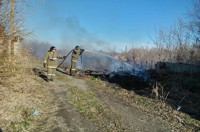В Коркинском районе ежедневно происходят пожары
