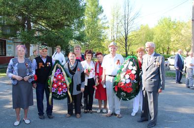 В Коркино отмечают 9 мая