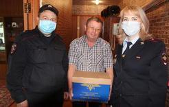 Полицейские Коркино поддерживают коллег-ветеранов