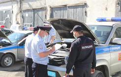 К службе готовы - автотранспорт полиции Коркино прошел проверку