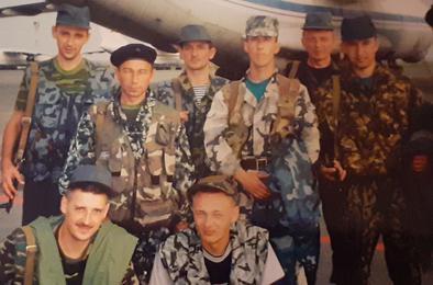 Милиционеры Коркино - ветераны боевых действий