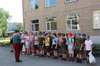 В Коркинском районе начали свою работу школьные летние лагеря