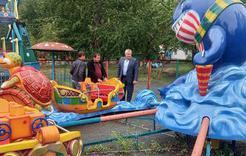 """Вторая жизнь """"паровозика"""": в парке Коркино полным ходом идет благоустройство"""