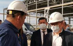 Губернатор области прибыл  с инспекцией в Коркино