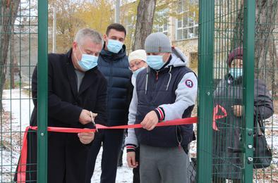 В городском парке Коркино начала свою работу дрессировочная площадка