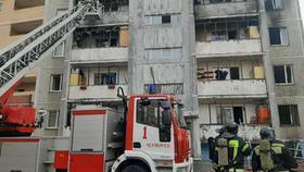 Пожар на месте взрыва ликвидирован