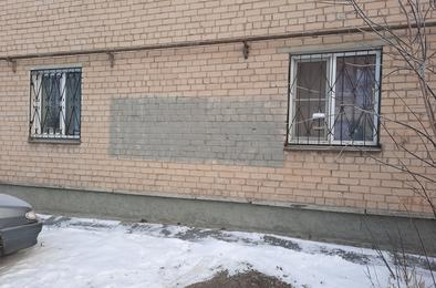 Надписи на фасадах домов стали появляться чаще