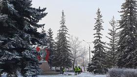 Памятным местам Коркино - особое внимание