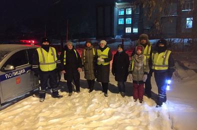Сотрудниками ОГИБДД по Коркинскому району проведена акция «Засветись на дороге»