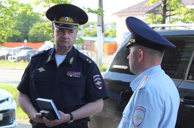 В Коркино побывал с визитом генерал МВД